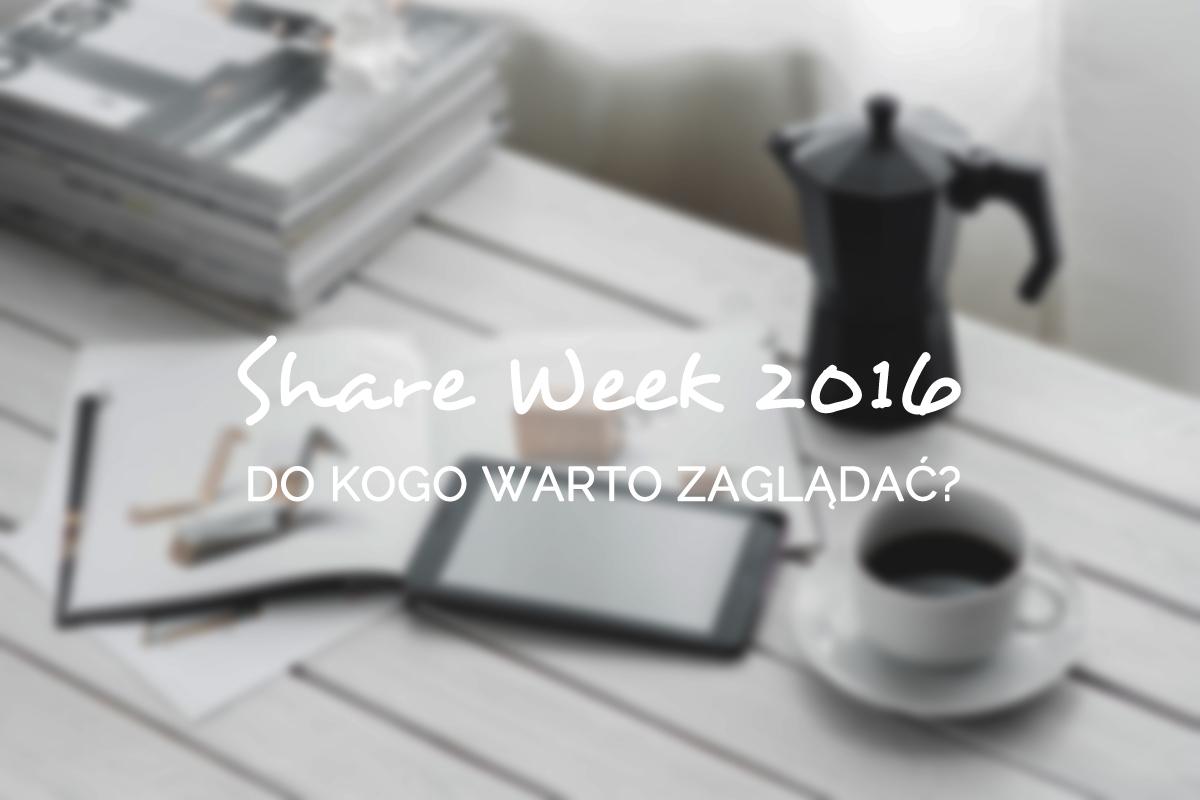 share week 2016 pozytywne wnętrza