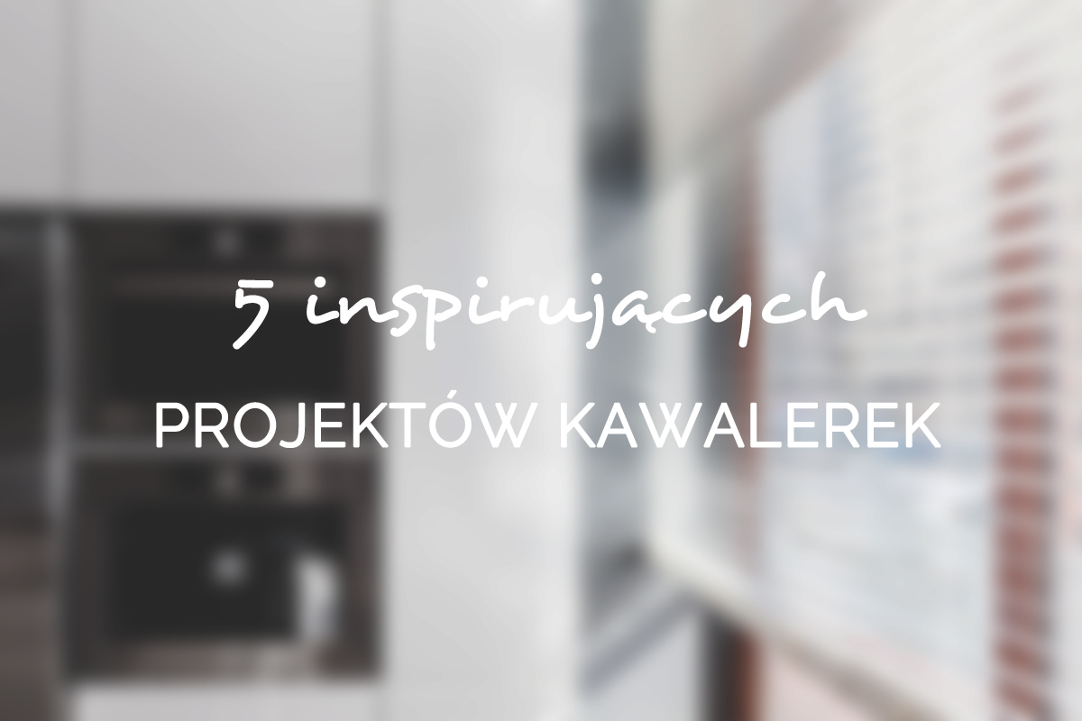 5 inspirujacych projektow kawalerek