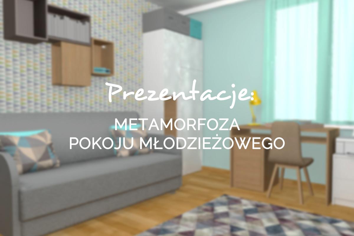 metamorfoza pokoju młodzieżowego gdańsk