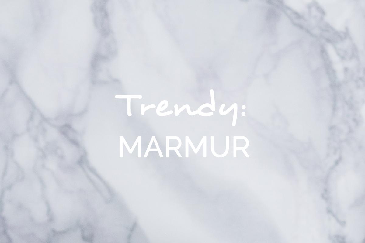 trendy marmur we wnętrzach