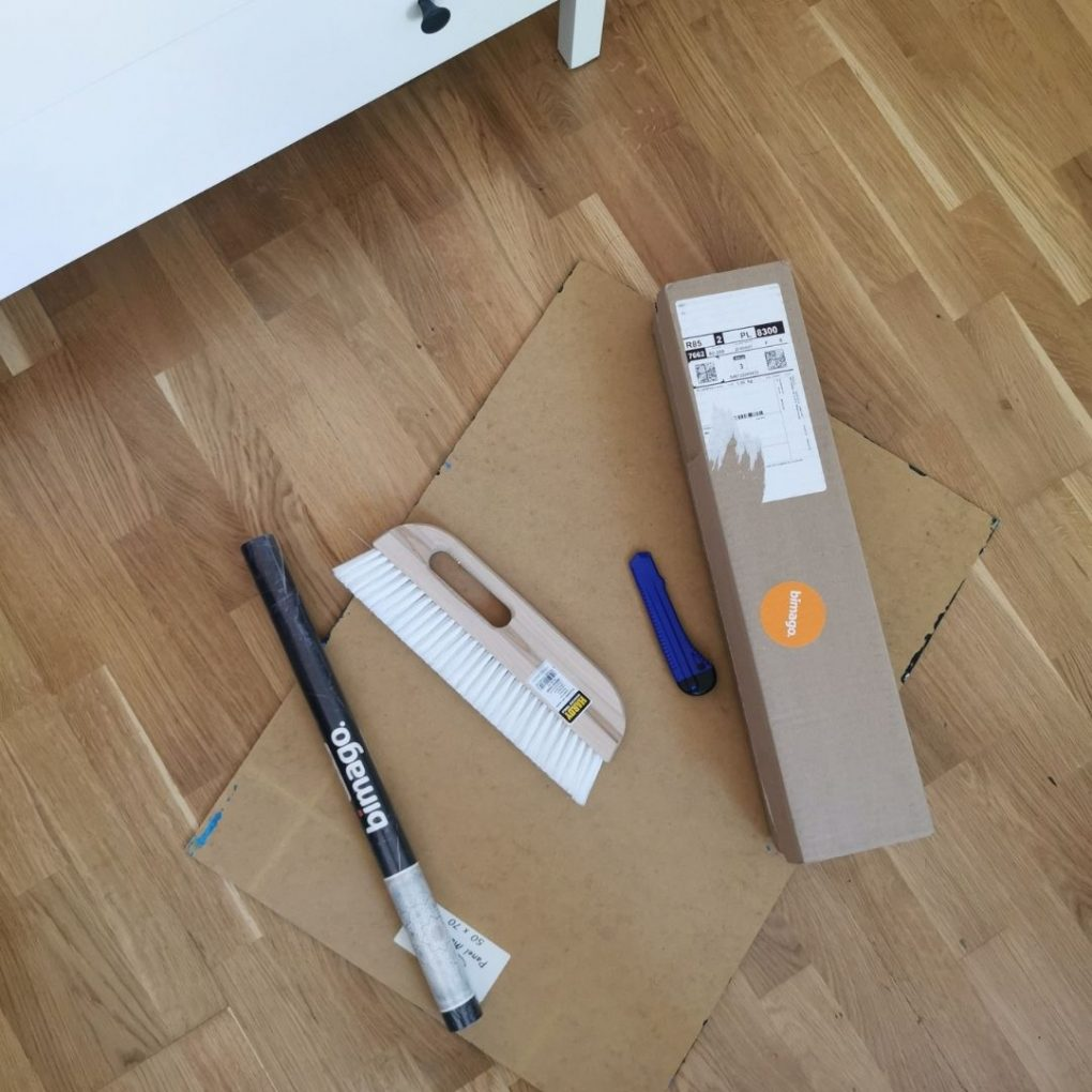 nożyk, fototapeta, płuyta pilśniowa,